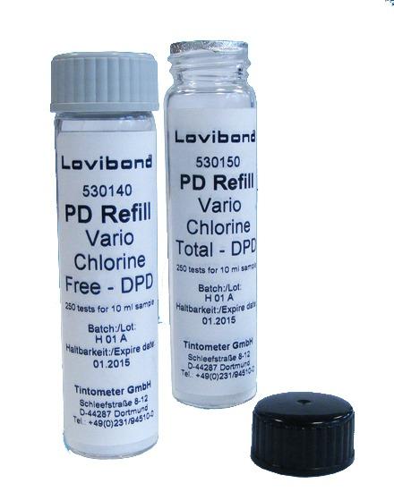 מילוי ריאגנט לכלור לממנן אבקה  LOVIBOND PD250