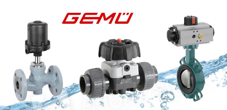 ברזים תעשייתיים תוצרת GEMU